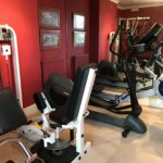 Exercise Equipment at the Grange