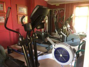Exercising At the Grange